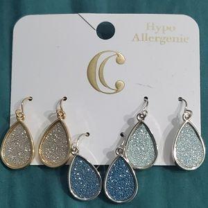 3 set charming Charlie earrings
